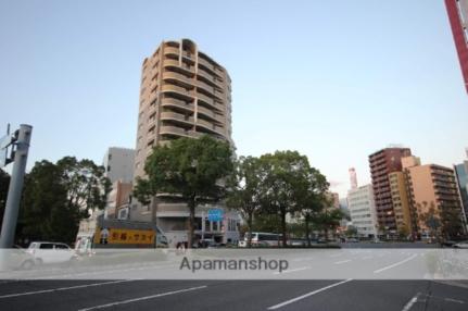 広島県広島市南区松川町の賃貸マンションの外観