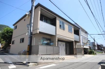 広島県広島市西区井口1丁目の賃貸アパートの外観