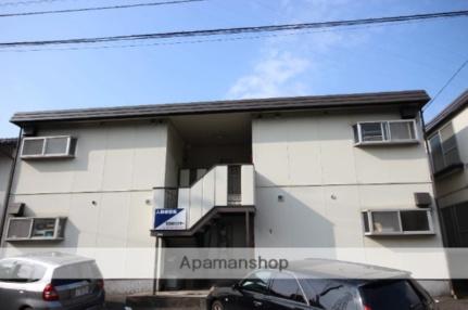 新田ハイツA棟[A102号室]の外観