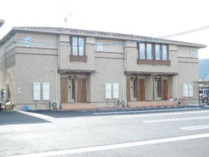 広島県大竹市南栄3丁目の賃貸アパートの外観