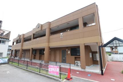 山口県山口市吉敷赤田1丁目の賃貸アパートの外観