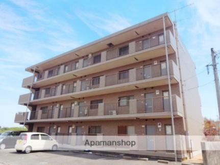 山口県宇部市大字東須恵の賃貸マンションの外観