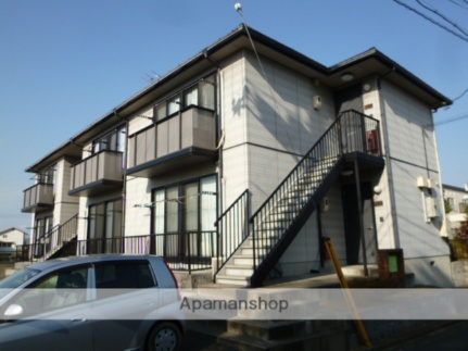 山口県山陽小野田市住吉本町2丁目の賃貸アパートの外観