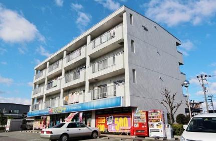 徳島県徳島市北矢三町1丁目の賃貸マンションの外観