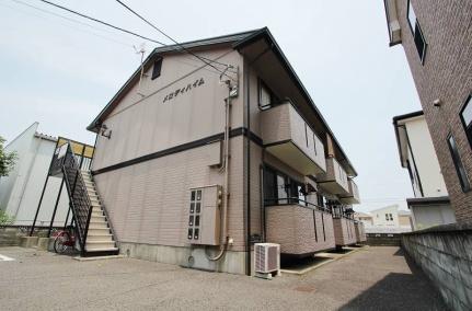 徳島県徳島市南沖洲3丁目の賃貸アパートの外観