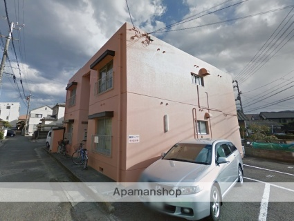 岡田ハイツ[102号室]の外観