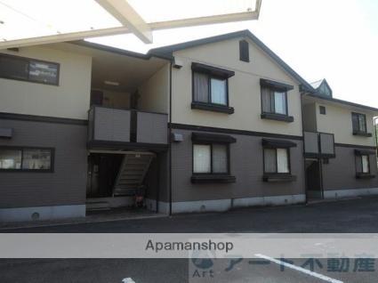 愛媛県松山市畑寺町の賃貸アパートの外観