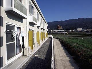 レオパレスTREASURE[2階]の外観