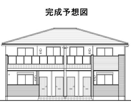 カーサ竹島[1階]の外観