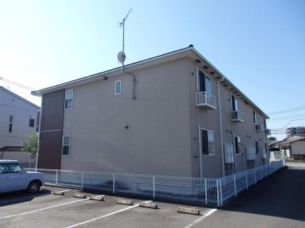 福岡県古賀市今の庄2丁目の賃貸アパートの外観