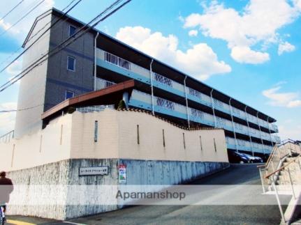 シ−サイドアベニュ−古賀[4階]の外観