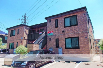 福岡県古賀市久保の賃貸アパートの外観