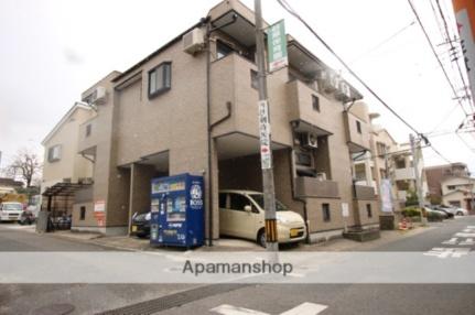 ピュア別府弐番館[1階]の外観