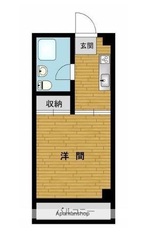第五渡辺ビル[402号室]の間取り