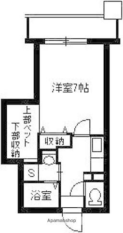 Cosumo Uearata[2階]の間取り