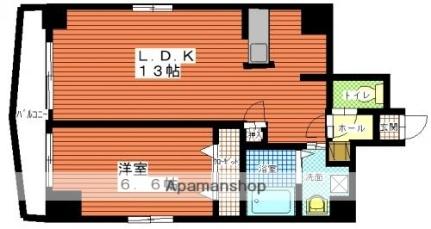 マリンステージKT[7階]の間取り