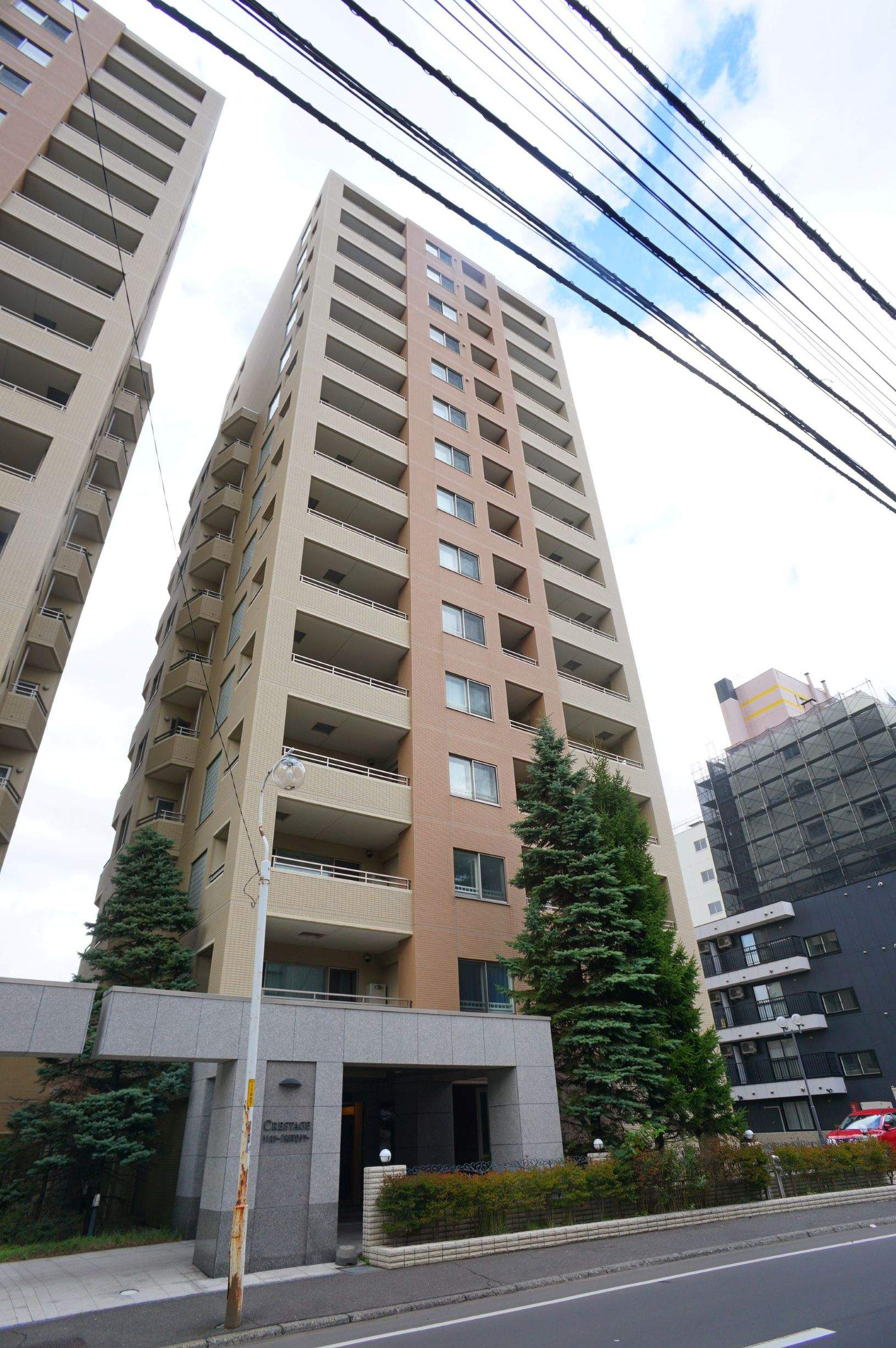 北海道札幌市中央区、西11丁目駅徒歩10分の築11年 15階建の賃貸マンション