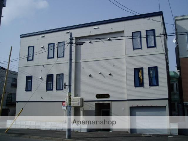 北海道札幌市中央区、幌平橋駅徒歩6分の築11年 3階建の賃貸アパート