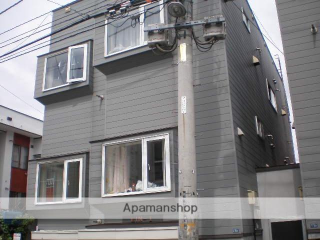 北海道札幌市中央区、中島公園駅徒歩8分の築23年 3階建の賃貸アパート
