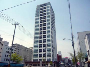 ラフィネタワー札幌南3条[1LDK/39.32m2]の外観1