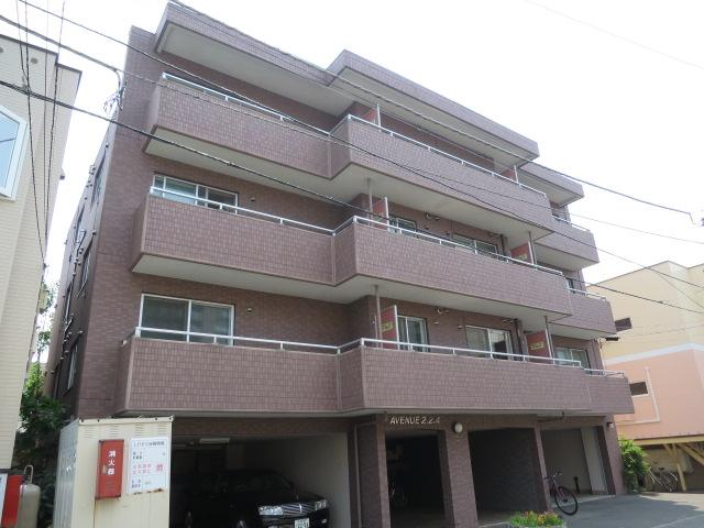 北海道札幌市中央区、円山公園駅徒歩7分の築18年 4階建の賃貸マンション