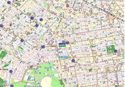パークヒルズ大通中央[1LDK/37.4m2]の配置図