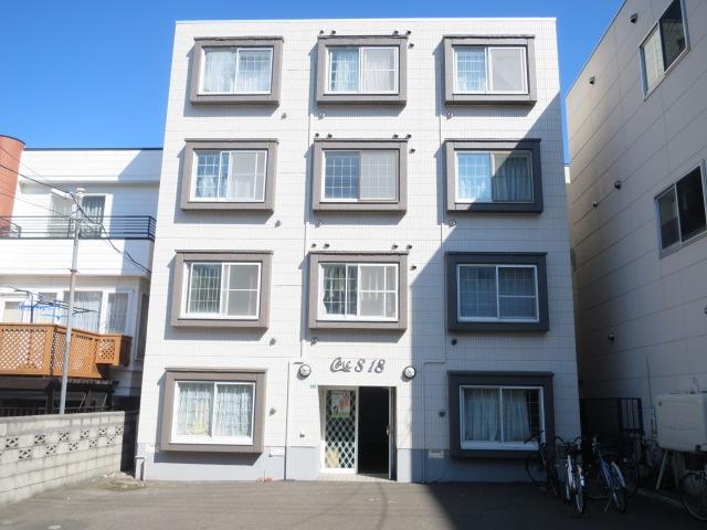 北海道札幌市中央区、西線16条駅徒歩3分の築27年 4階建の賃貸マンション