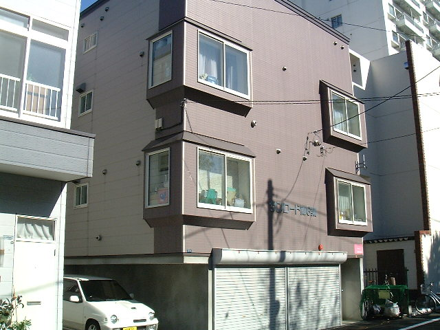 北海道札幌市中央区、西11丁目駅徒歩7分の築20年 3階建の賃貸アパート