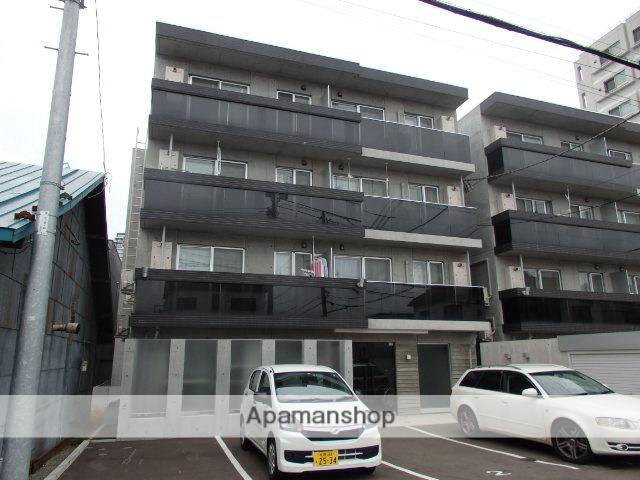 北海道札幌市中央区、札幌駅徒歩9分の築3年 4階建の賃貸マンション