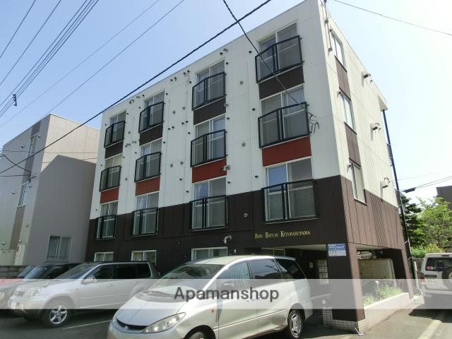 北海道札幌市中央区、二十四軒駅徒歩6分の築29年 4階建の賃貸マンション