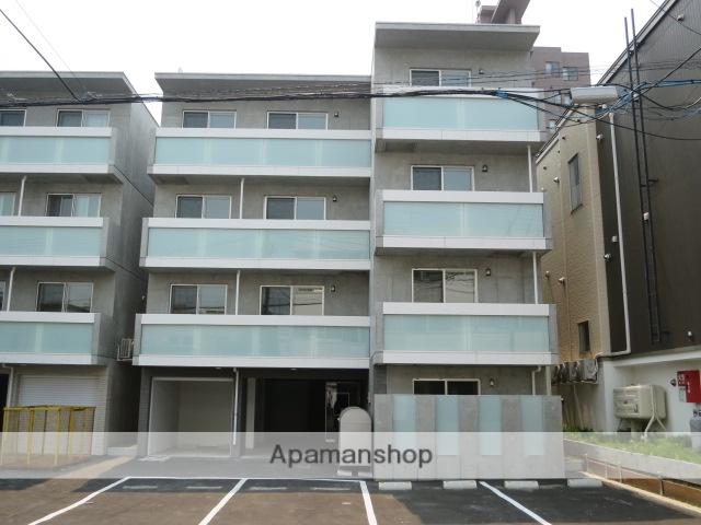 北海道札幌市中央区、西線9条旭山公園通駅徒歩8分の新築 4階建の賃貸マンション