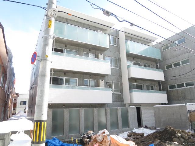 北海道札幌市中央区、札幌駅徒歩9分の新築 4階建の賃貸マンション