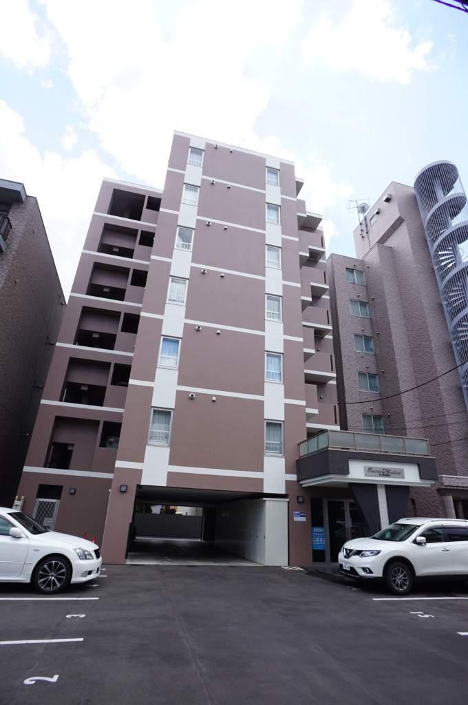 北海道札幌市中央区、西線16条駅徒歩7分の新築 7階建の賃貸マンション