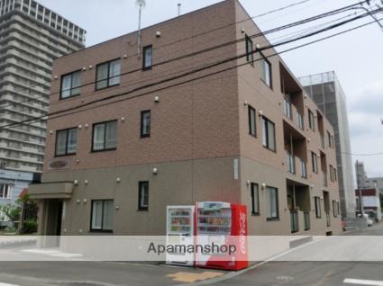 北海道札幌市中央区、ロープウェイ入口駅徒歩7分の築10年 3階建の賃貸マンション