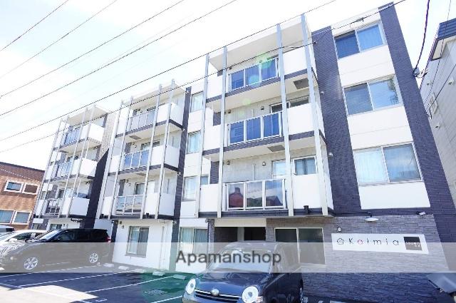 北海道札幌市中央区、桑園駅徒歩10分の築2年 4階建の賃貸マンション