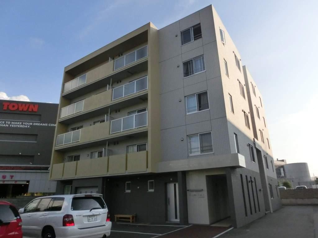 北海道札幌市厚別区、大谷地駅徒歩6分の築5年 5階建の賃貸マンション