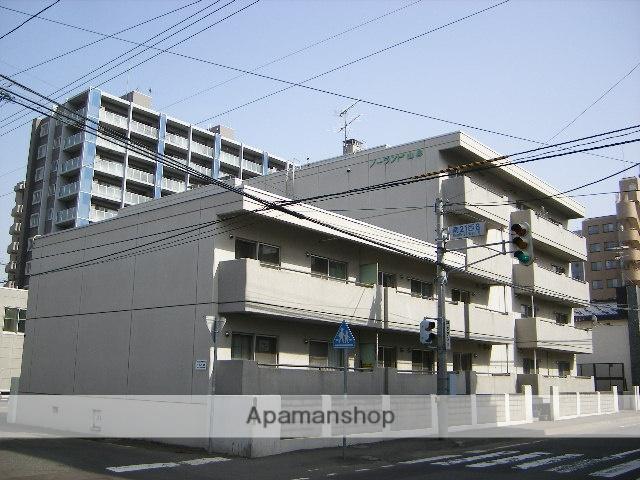 北海道札幌市中央区、幌平橋駅徒歩14分の築34年 5階建の賃貸マンション