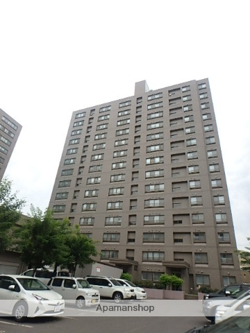 北海道札幌市西区、琴似駅徒歩7分の築22年 14階建の賃貸マンション