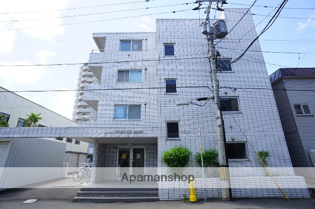 北海道札幌市中央区、二十四軒駅徒歩16分の築25年 4階建の賃貸マンション