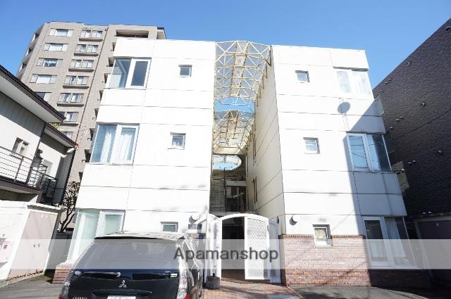 北海道札幌市中央区、円山公園駅徒歩10分の築26年 3階建の賃貸マンション
