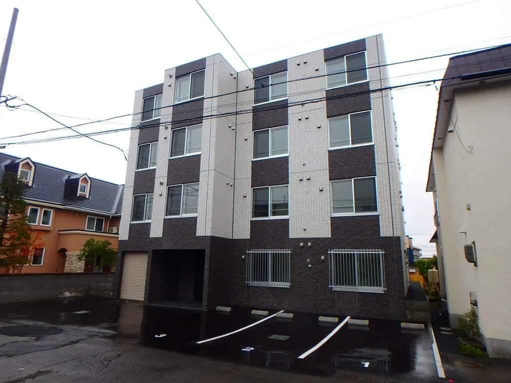 北海道札幌市西区、発寒中央駅徒歩11分の新築 4階建の賃貸マンション