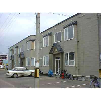 北海道札幌市西区の築22年 2階建の賃貸アパート