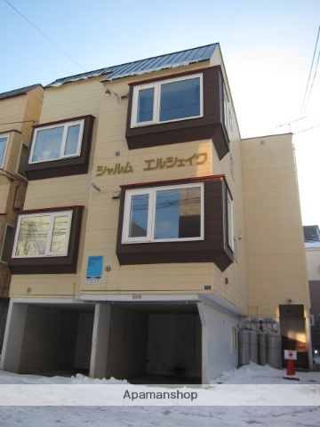 北海道札幌市中央区、西線14条駅徒歩8分の築20年 3階建の賃貸アパート