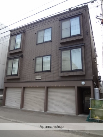 北海道札幌市中央区、西18丁目駅徒歩9分の築13年 3階建の賃貸アパート