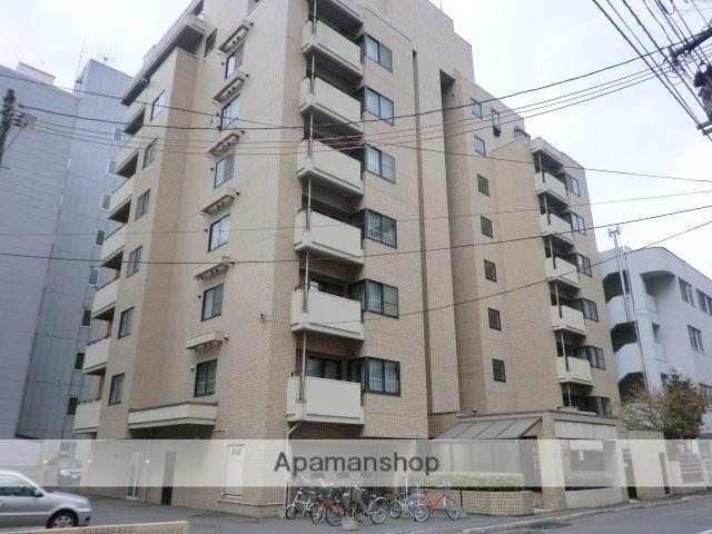 北海道札幌市中央区、バスセンター前駅徒歩1分の築32年 9階建の賃貸マンション