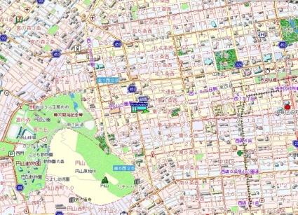 円山ホワイトハイツ[1LDK/29.33m2]の配置図