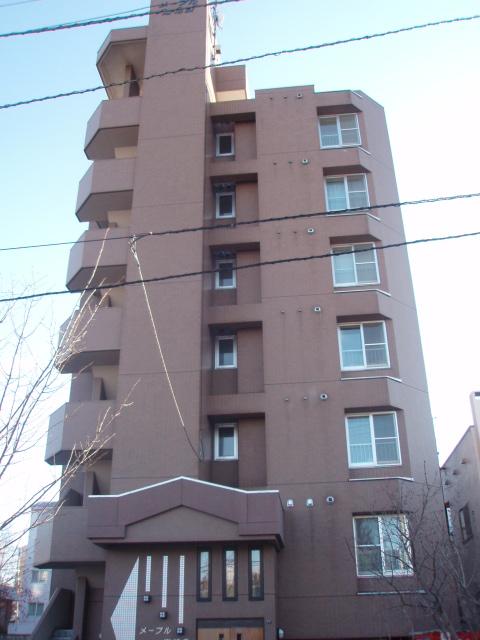 北海道札幌市中央区、西線16条駅徒歩7分の築17年 7階建の賃貸マンション
