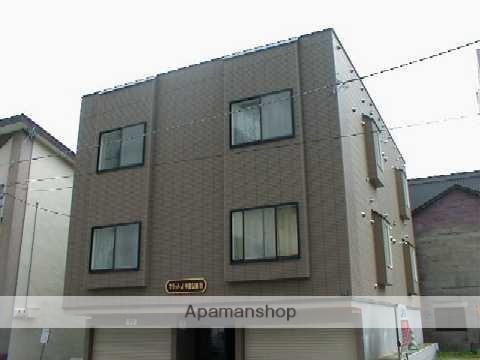 北海道札幌市中央区、中島公園駅徒歩14分の築16年 3階建の賃貸アパート