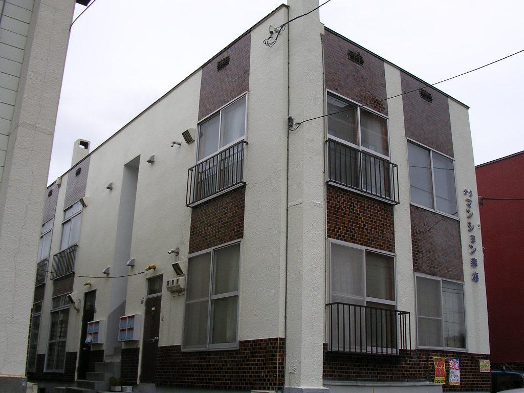 北海道札幌市中央区、円山公園駅徒歩17分の築41年 2階建の賃貸アパート