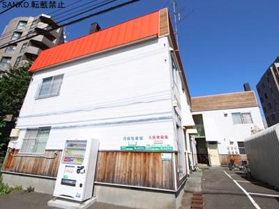 北海道札幌市中央区、幌南小学校前駅徒歩7分の築40年 2階建の賃貸アパート